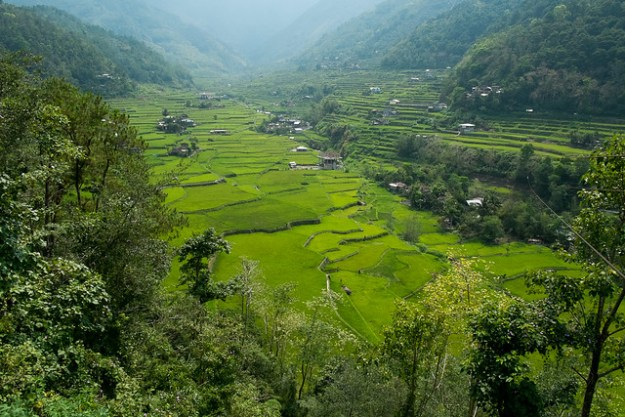 Green valley. Hungduan