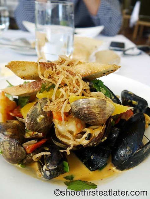 The Restaurant at The J. Paul Getty Museum- bouillabaisse $20. Paul Getty Museum-011
