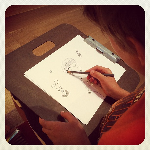 Junior artist @highmuseumofart