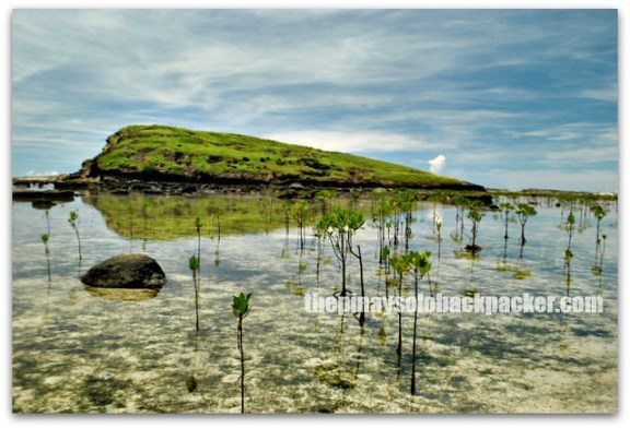 Biri Rock Formation at Biri Island, Samar