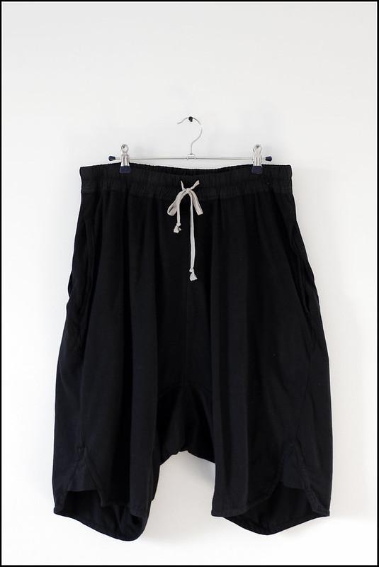 Tuukka13 - New Shorts x2 - Rick Owens DRKSHDW - Black Swinger Pod Short - 3