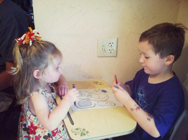 jaxon & lennox coloring