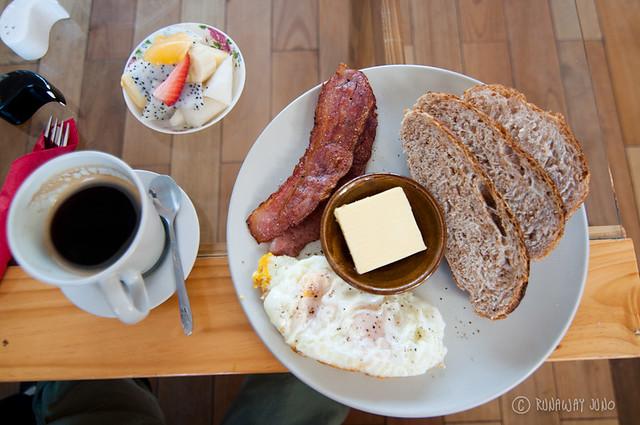 Western Breakfast in Bakery 88