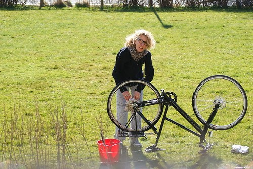 Bicycle cleaning