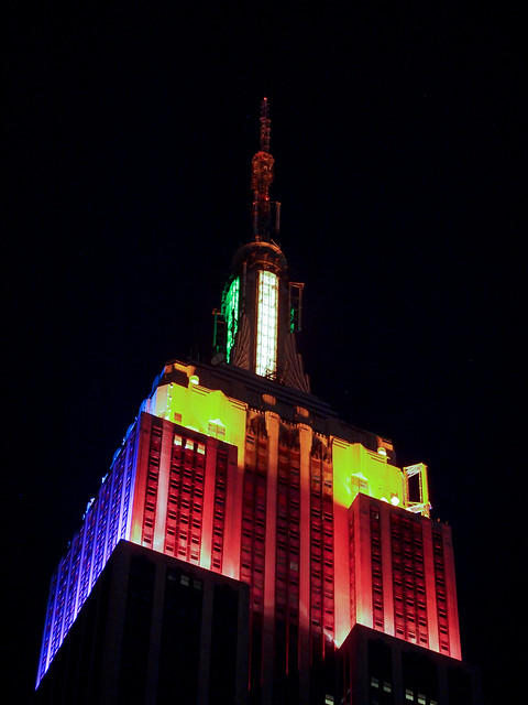 Empire State Building - Pride Weekend 2012