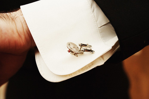 Enterprise cuff links!