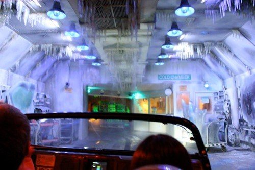Cold Chamber - Test Track at Epcot