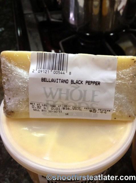 bellavitano black pepper cheese