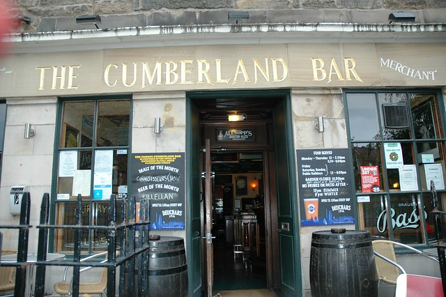 The Cumberland Bar, Edinburgh