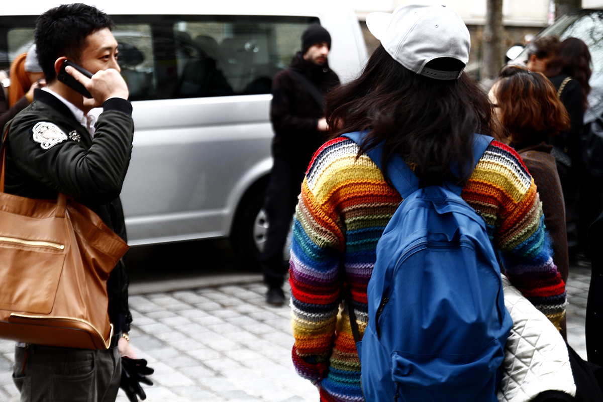 Tuukka13 - 2012_01_20 Street Style outside Junya Watanabe, Mens Fashion Week Paris - 18