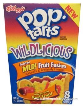 Kellogg's Wildlicious Wild! Fruit Fusion Pop-Tarts