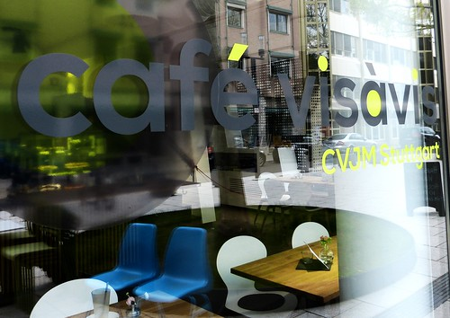 Cute littel café in Stuttgart: café visávis