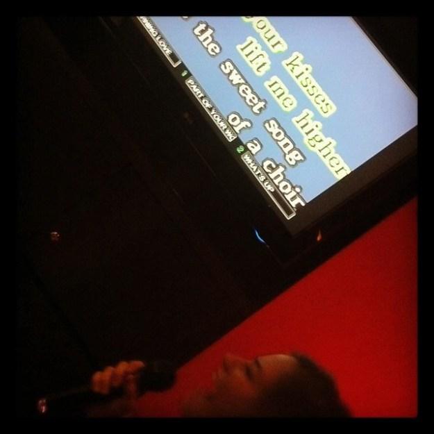 Me singing Elvis