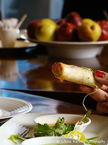 Shitake Mushroom & USA Pear Spring Roll
