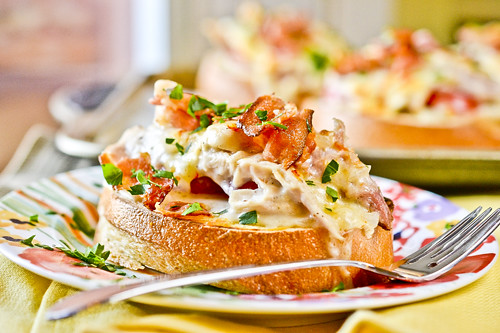 Hot Brown Turkey Sandwiches 1