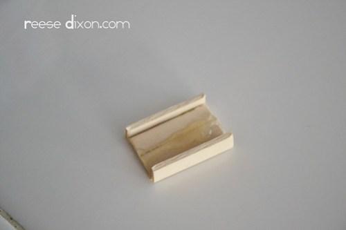 Manger Diorama Tutorial Step 2
