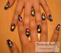 Bubbles nail design   Flickr - Photo Sharing!