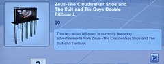 Zeus-The Cloudwalker Shoe Double Billboard