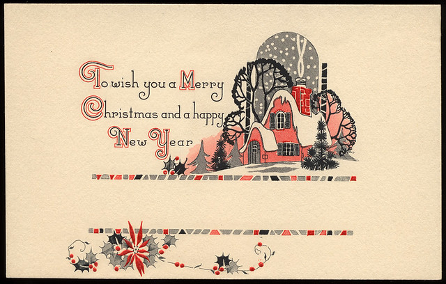 Red, Black,  White Christmas 2 - a gallery on Flickr - christmas cards black and white