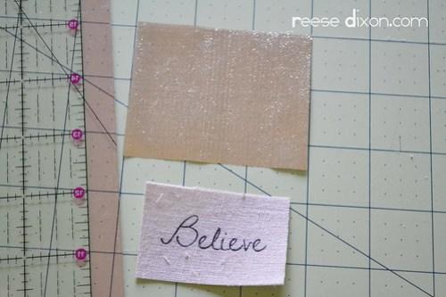 Believe Frame Step 3