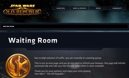 Star Wars The Old Republic Waiting Room