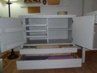 Martha Stewart Living craft space storage cabinet | Flickr ...