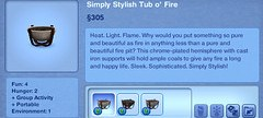 Simply Stylish Tub o' Fire