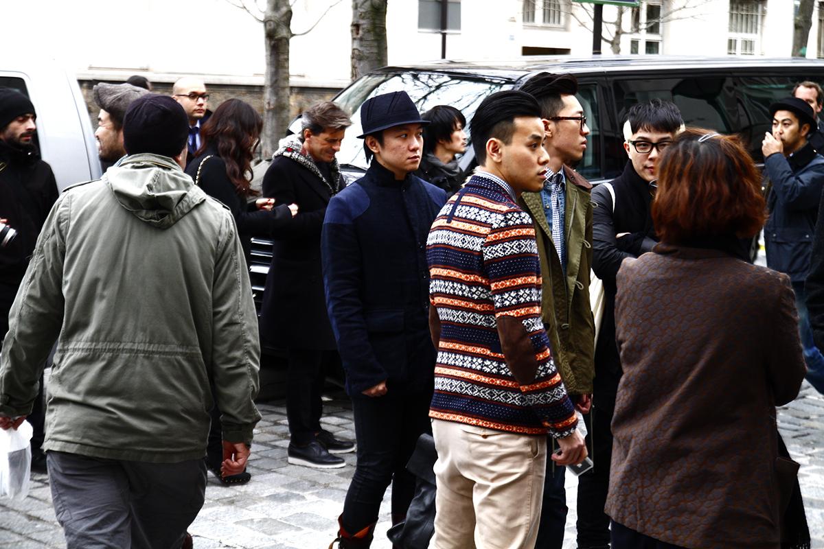 Tuukka13 - 2012_01_20 Street Style outside Junya Watanabe, Mens Fashion Week Paris - 19