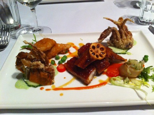 Ocean platter, Nine Fine Food
