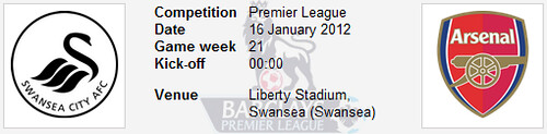 6700170499 93f22ce345 Swansea City vs Arsenal | Barclays Premier League | Live Results
