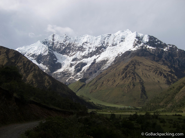 Camp #1 is at the base of Umantay (5,459 meters)