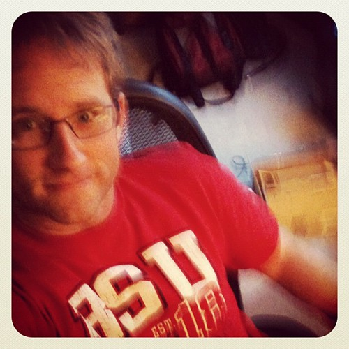 Proudly wearing my Ball State shirt made by Alta Gracia. @wearaltagracia