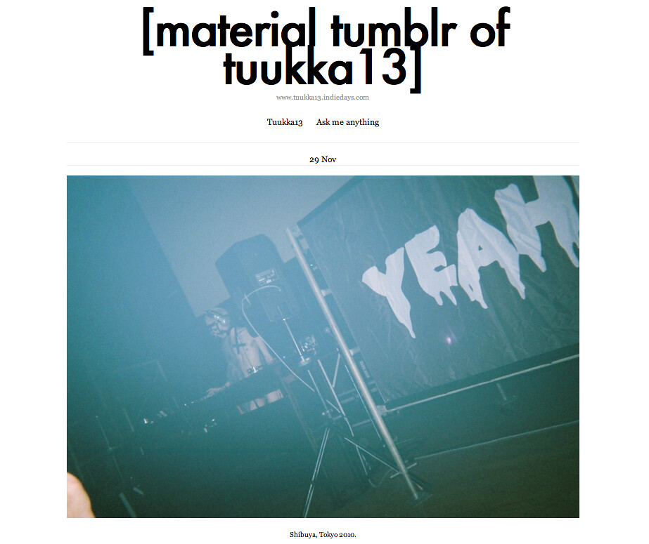 [MATERIAL TUMBLR OF TUUKKA13]