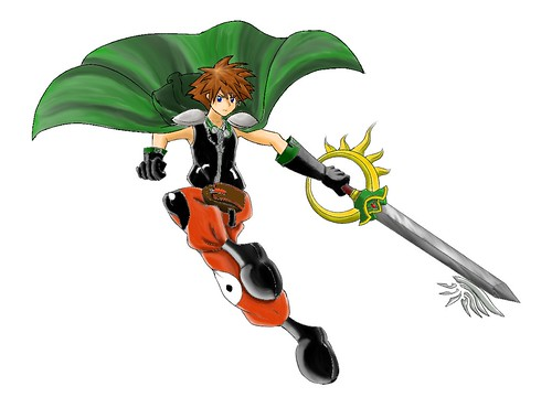 Sora Syaoran From color