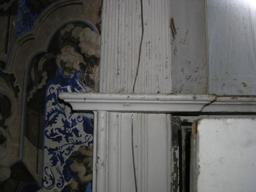 Echinus Molding in Front Hall