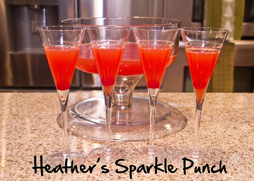 Heather's Sparkle Punch