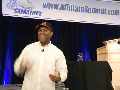 Eric Thomas at Affiliate Summit West 2012