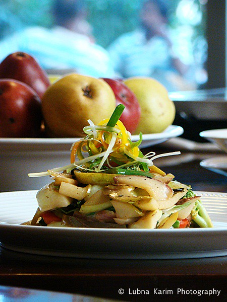 Stir Fried USA Pears with Bok Choy and Water Chestnuts
