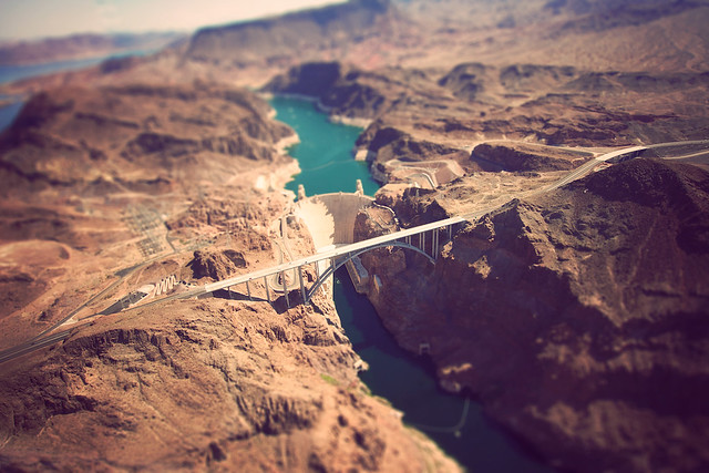 Tilt-Shift Hoover Dam