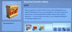 Deserted Counter Island