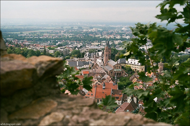 View from Burgruine Windeck (The Ruins of Windeck Castle) Schlossberg
