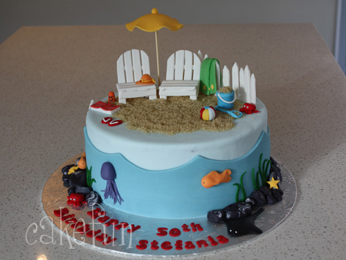 Beach Cake Flickr Photo Sharing