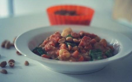 gnocchi mit süßkartoffeln in erdnusscreme