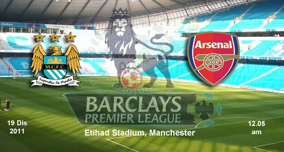 6530364021 44e6158609 Live Manchester City vs Arsenal England Barclays Premier League 19 Disember 2011