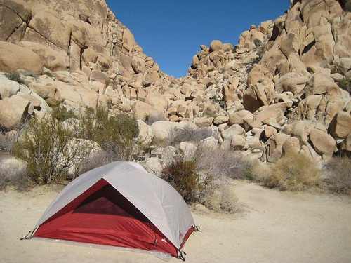 Our cozy campsite
