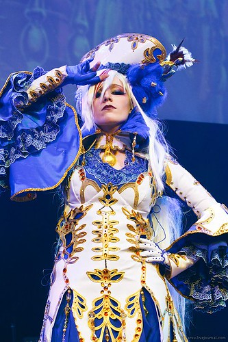Trinity Blood Astharoshe Asran Cosplay