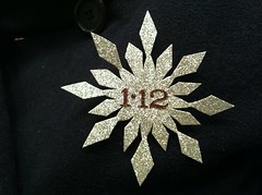 Snowflake boutonniere