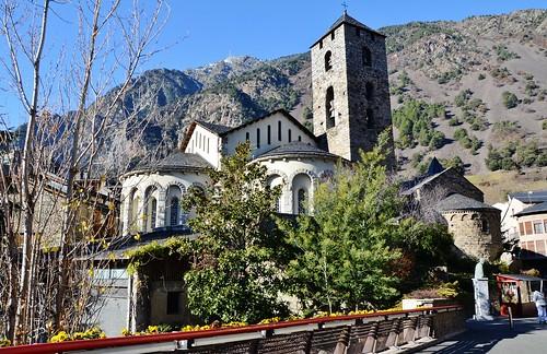 Esglèsia romànica Sant Esteve, Andorra la Vella -2015