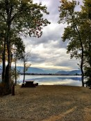 Haynes Point provincial campground overlooking Osoyoos Lake
