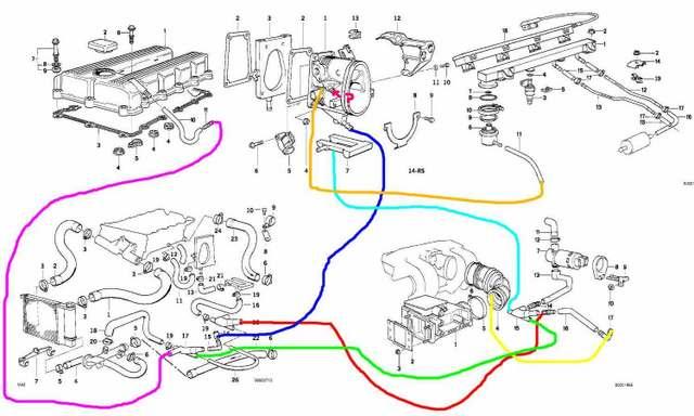 1992 Bmw 525i Engine Diagram Control Cables  Wiring Diagram